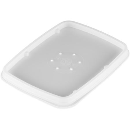 DXTT30 - Rectangular soup bowl lid- fits DXTT20 (1000/cs) - White