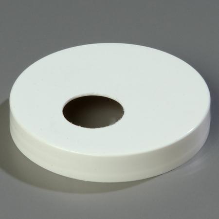 "3831089 - Plastic Cap Only 3.50"" - White"