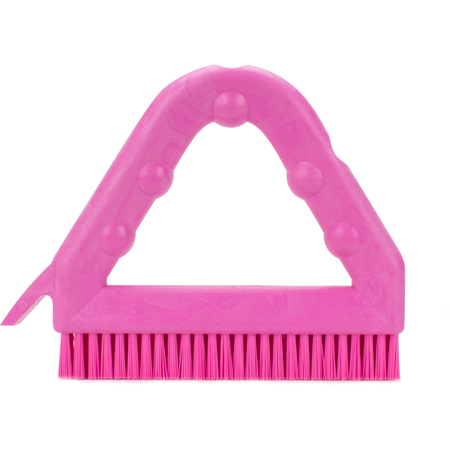 """41323EC26 - 9"""" POLY TILE & GROUT BRUSH PINK"""