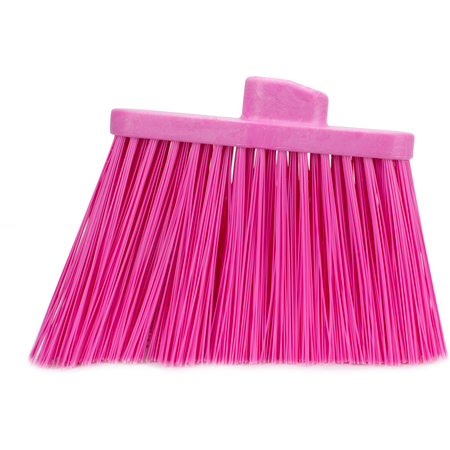 36868EC26 - DUO-SWEEP UNFLAGGED BROOM - HEAD ONLY - PINK
