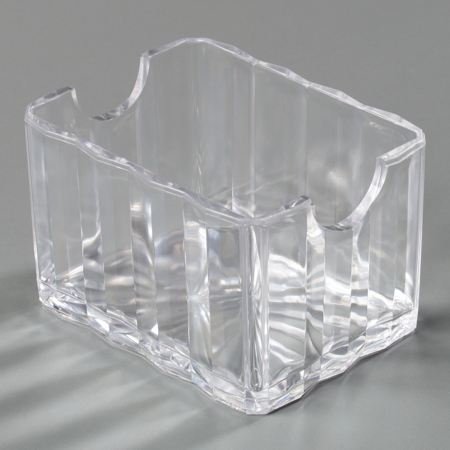 454907 - Crystalite® Sugar Caddy (holds 20 pkts)  - Clear