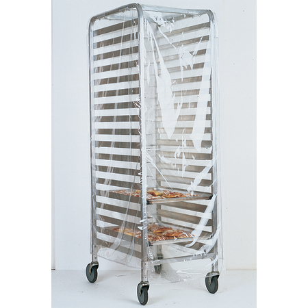 "5675CL018 - Pan Rack Cover 22"" x 31"" x 61"" - Clear"