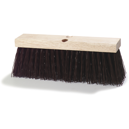 "3621951601 - Flo-Pac® Heavy Polypropylene Street Sweep 16"" - Brown"