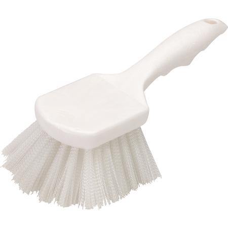 """3662000 - Flo-Pac® Utility Scrub Brush With Nylon Bristles 8"""" - White"""