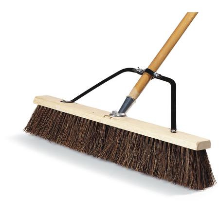 "367372TC00 - 24"" Rough Sweep w/Palmyra Bristles 24"" - Maroon"
