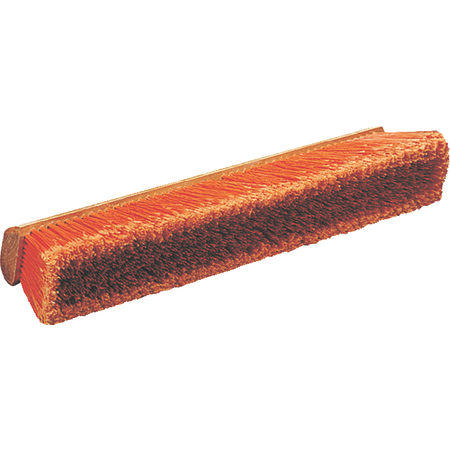 "36222424 - Flo-Pac® Polypropylene Sweep With Heavy Polypropylene Center 24"" - Orange"