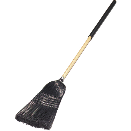 "4167903 - Flo-Pac® 57"" Warehouse/Janitor Broom 57"" / 26 lb. - Black"