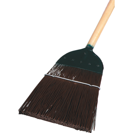 "4564901 - 1-Stitch Metal Top Broom 54"" / 1 lb. - Brown"