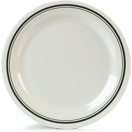 "43003905 - Durus® Melamine Dinner Plate 10.5"" - Orleans on Bone"