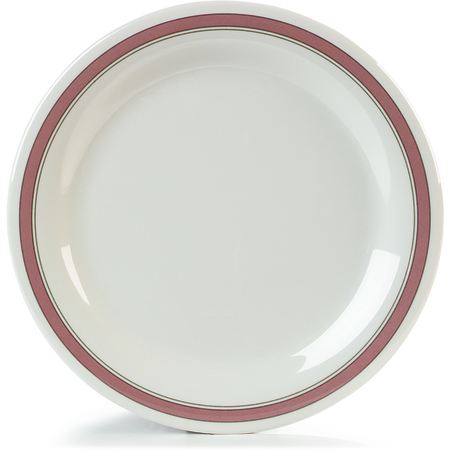 "43003906 - Durus® Melamine Dinner Plate 10.5"" - Parisian on Bone"