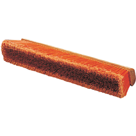 "36221824 - Flo-Pac® Polypropylene Sweep With Heavy Polypropylene Center 18"" - Orange"