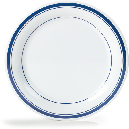 "43003912 - Durus® Melamine Dinner Plate 10.5"" - London on White"