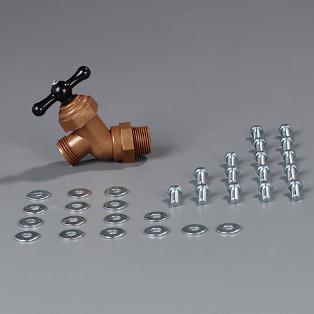 670500 - Six Star™ Hardware for Legs and Basin