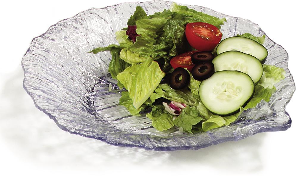 Leaf Plate 9 - Clear