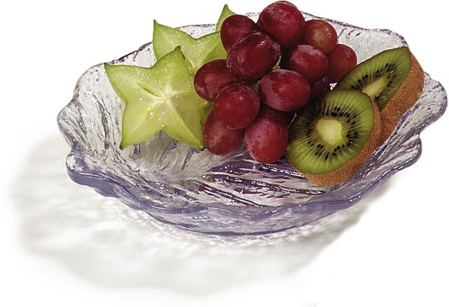 Leaf Plate 6 - Clear