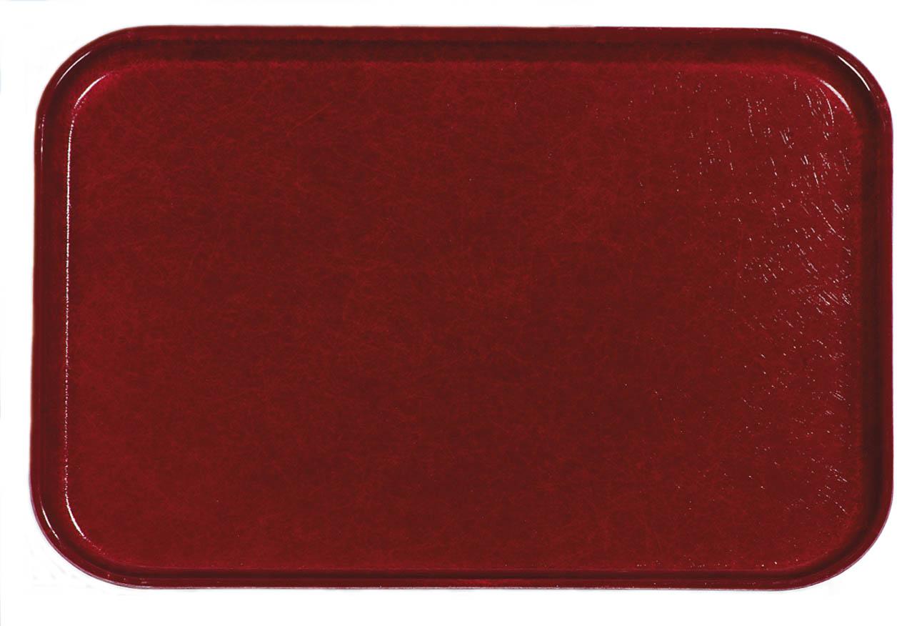 Glasteel Tray 22 x 16 - Cherry Red