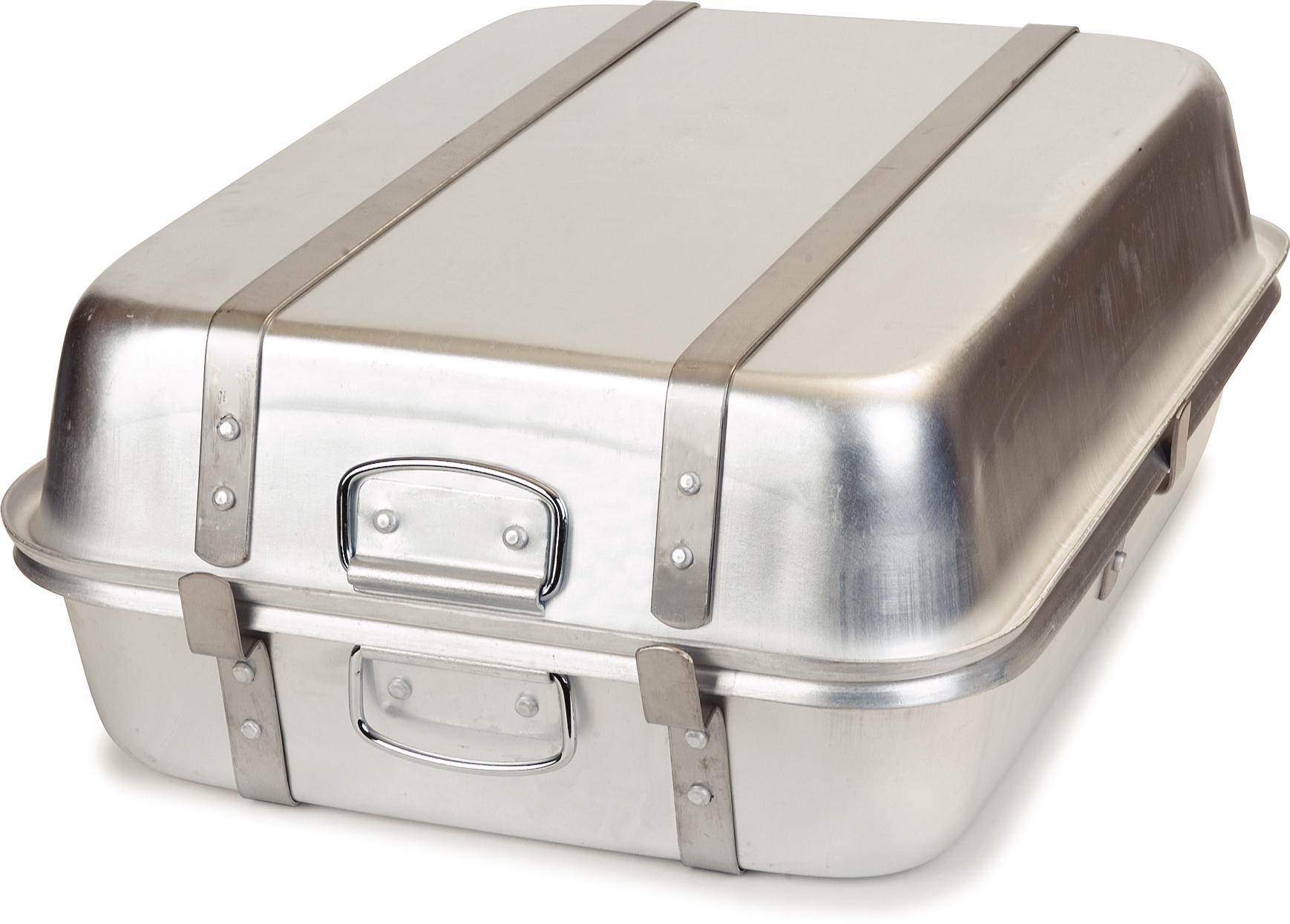 Double Roaster 24 x 18 x 9 - Aluminum