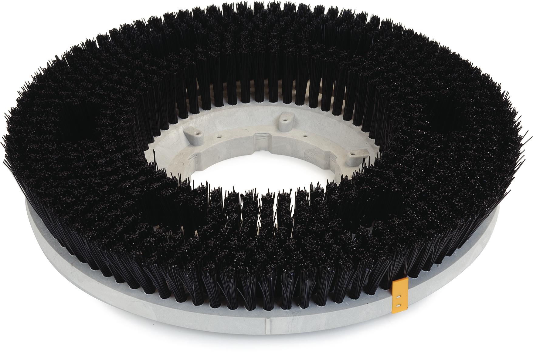 Colortech Poly .028 Stiff Scrubbing Brush 15 - Black