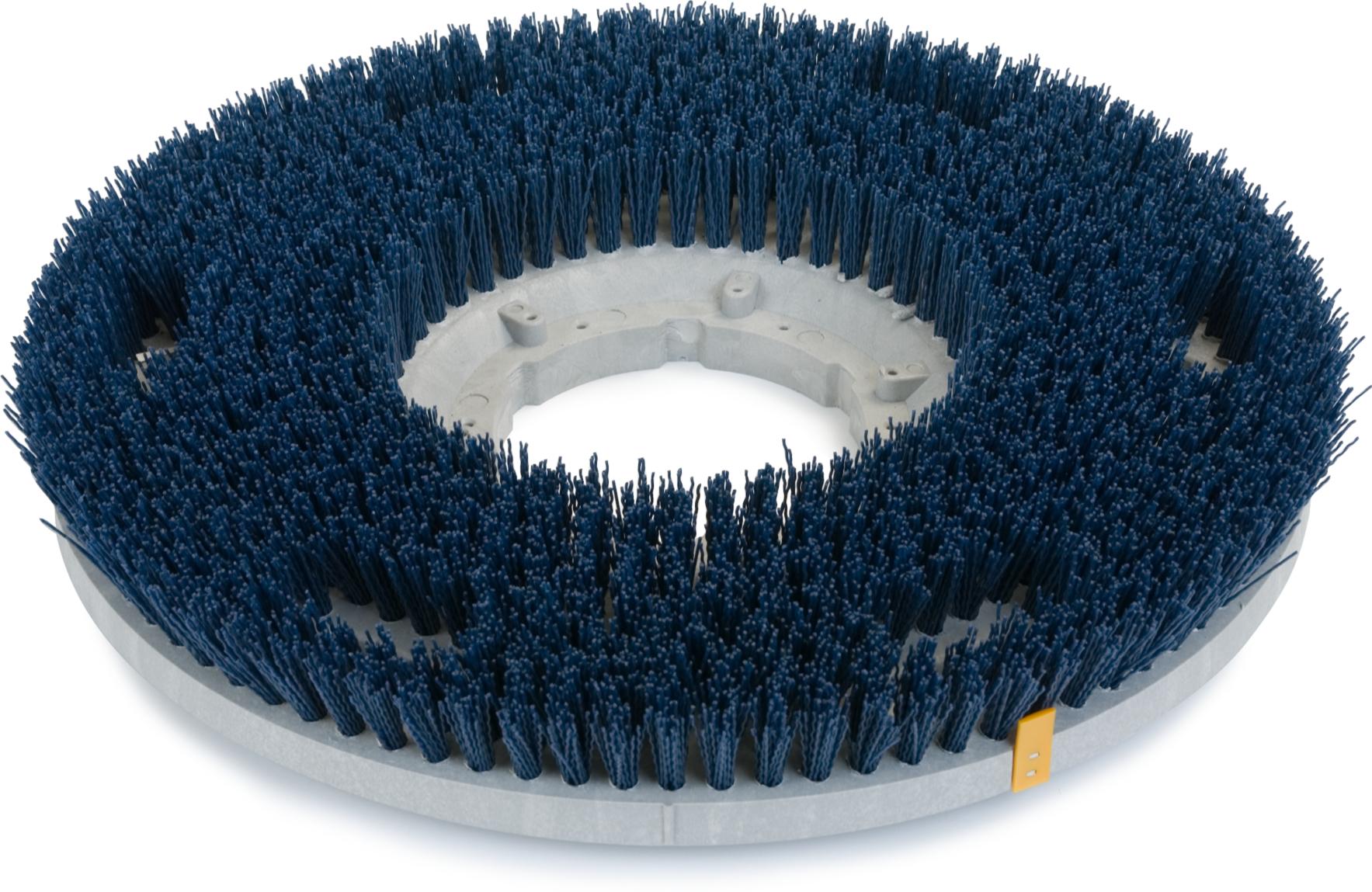 Colortech Blue Aggressive Scrubbing Grit Brush 16 - Blue