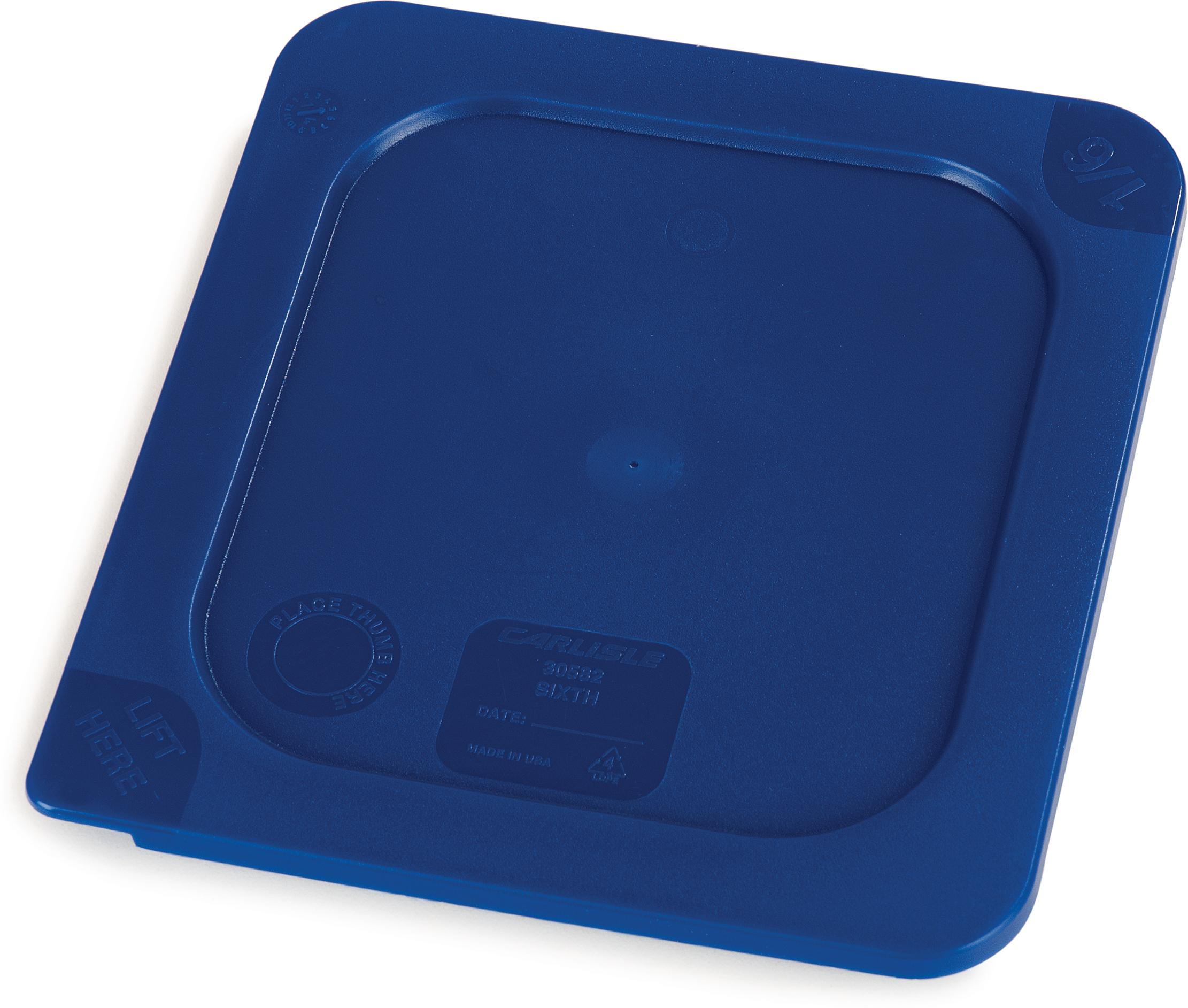 Smart Lids Lid - Food Pan 1/6 Size - Dark Blue