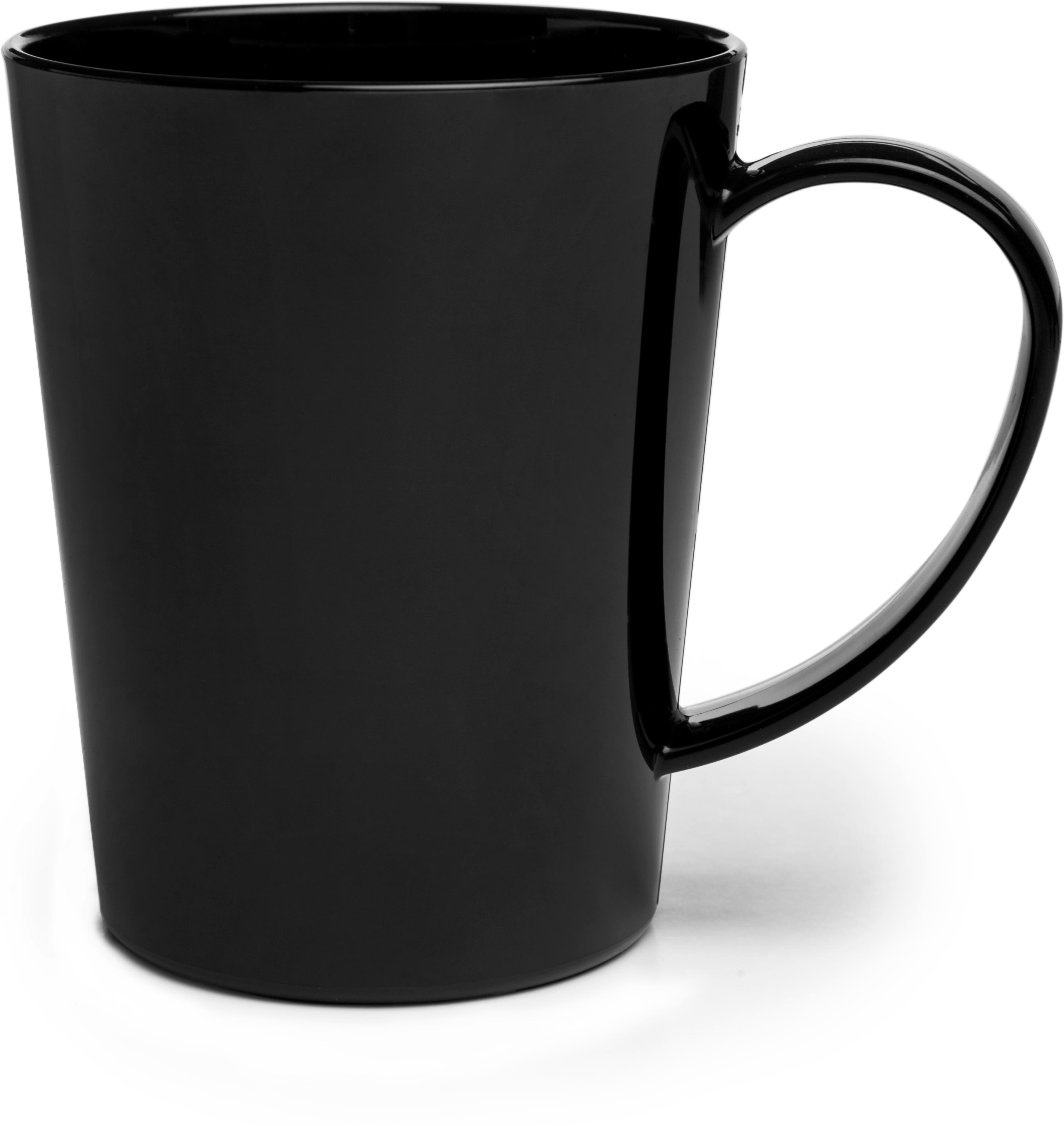 Carlisle Mug 12 oz - Black
