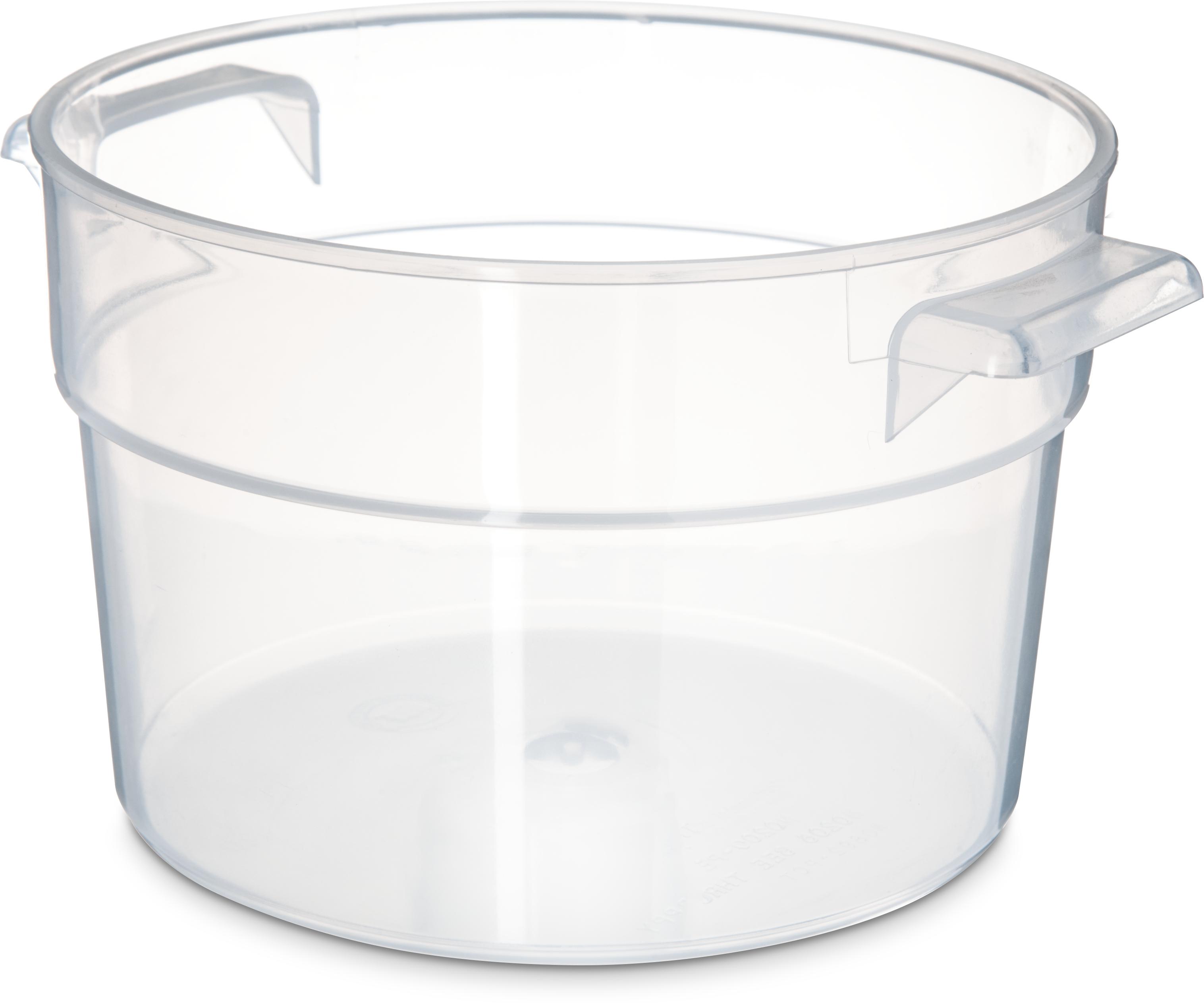 Bains Marie Container 2 qt - Translucent