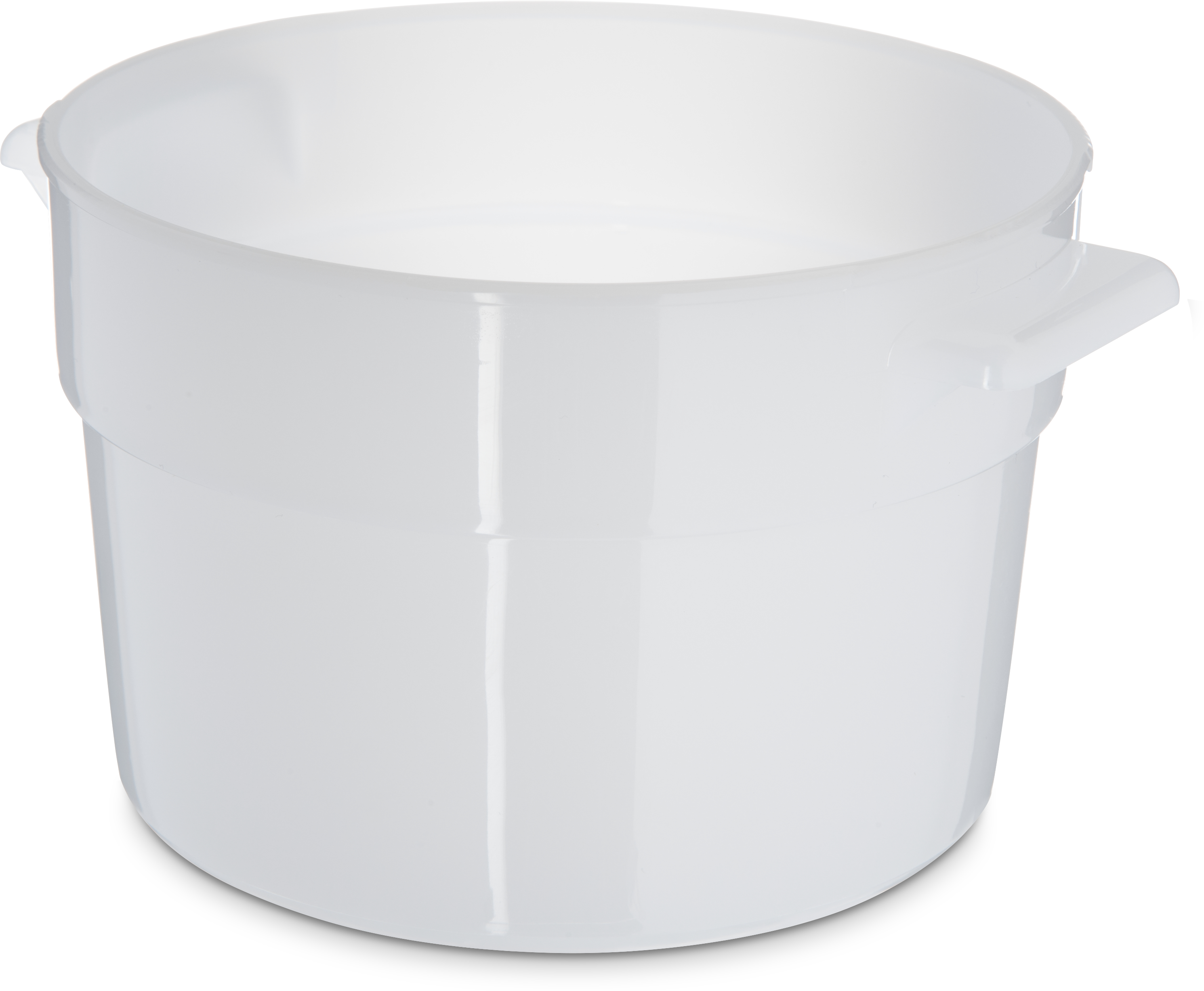 Bains Marie Container 2 qt - White