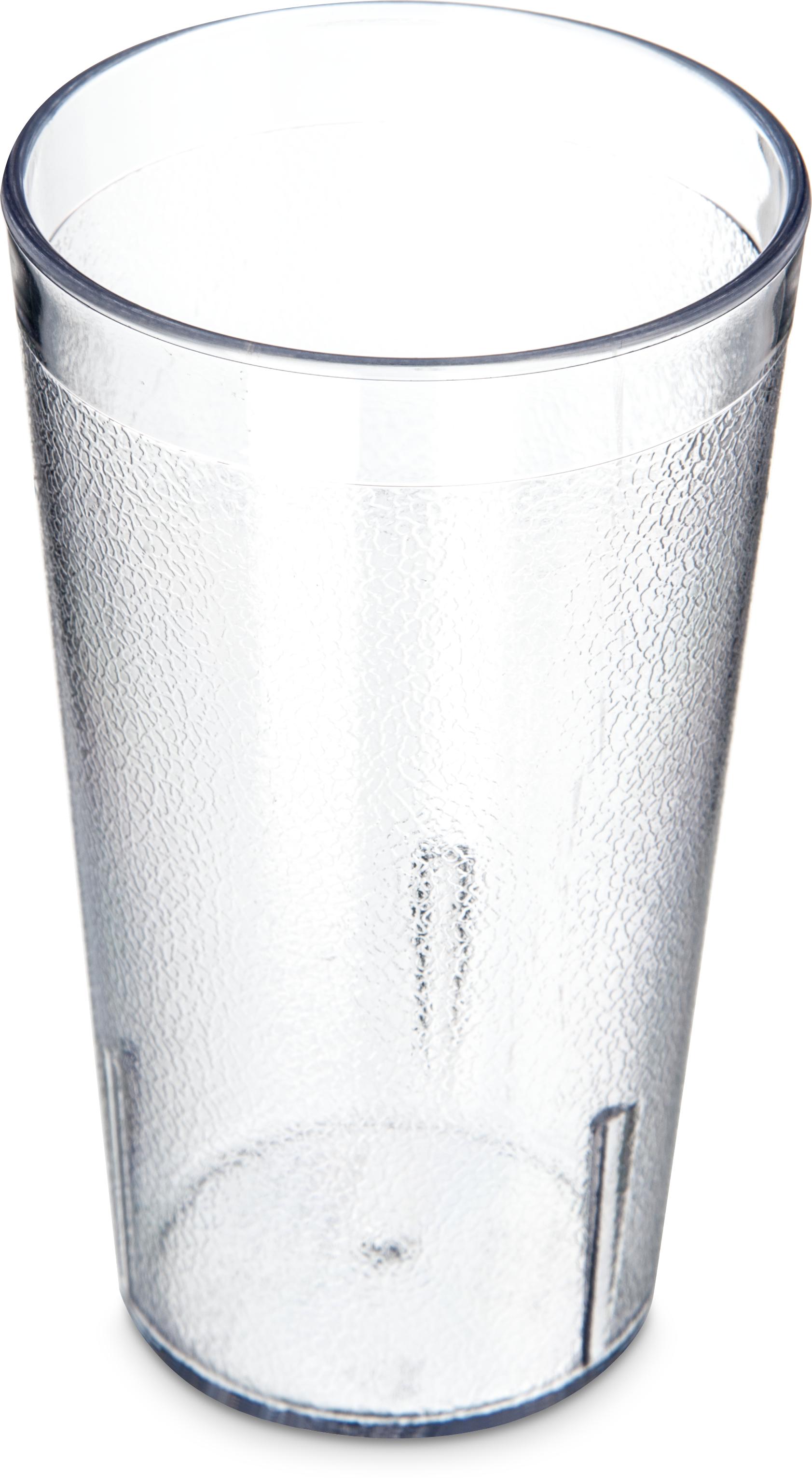 Stackable SAN Tumbler 12 oz (12/pk) - Clear