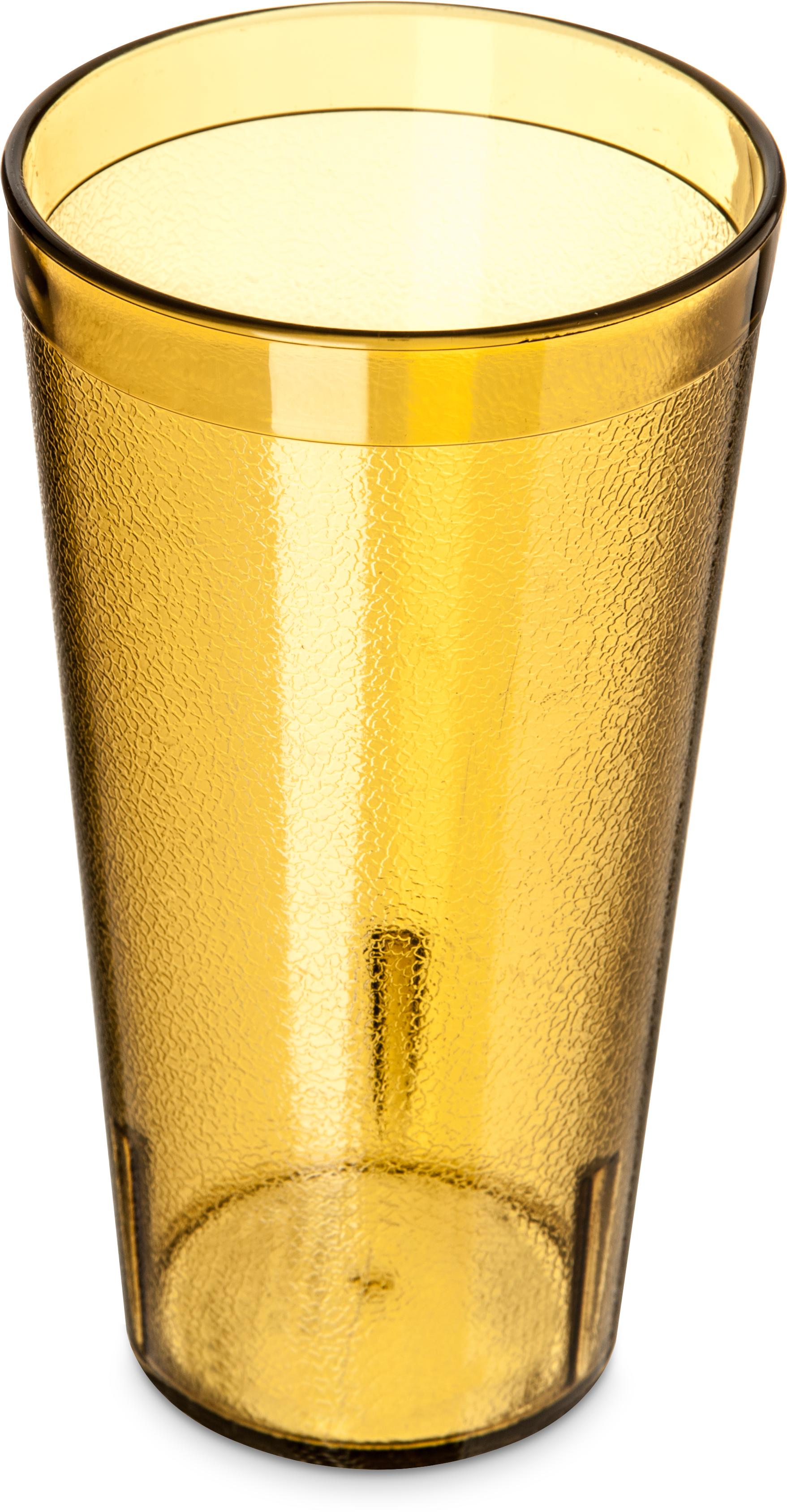 Stackable SAN Tumbler 20 oz (12/pk) - Amber
