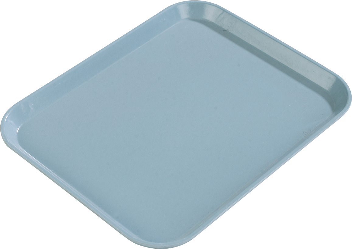 Glasteel Tray 22 x 16 - Ice Blue