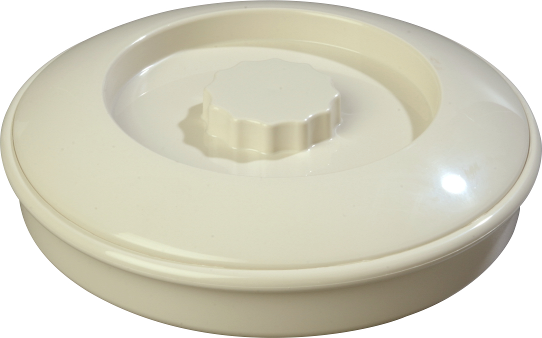 Tortilla Server w/Lid 7-1/4 / 1-15/16 - Bone