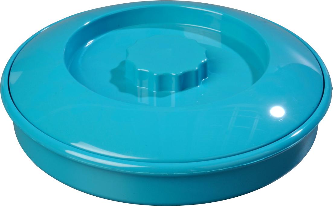 Tortilla Server w/Lid 7-1/4 / 1-15/16 - Turquoise