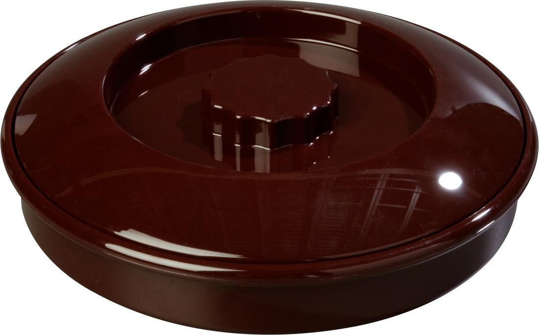 Tortilla Server w/Lid 7-1/4 / 1-15/16 - Brown