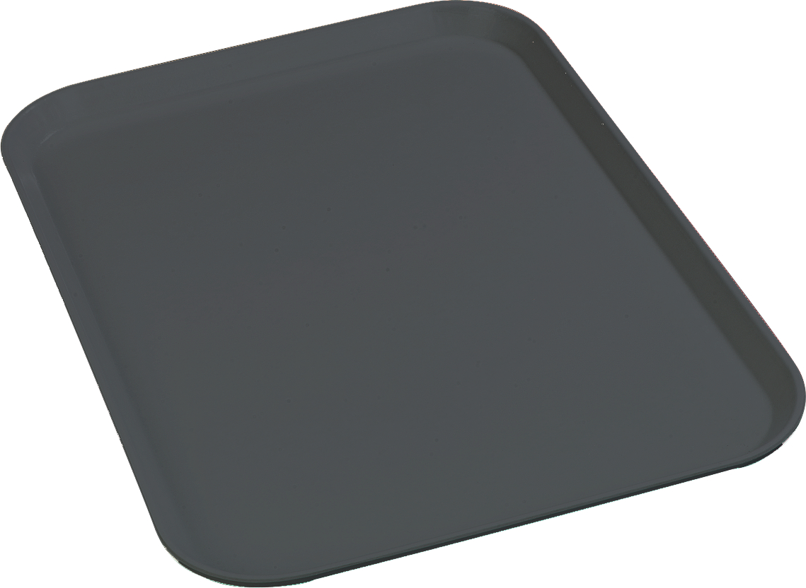 Glasteel Tray 22 x 16 - Pewter