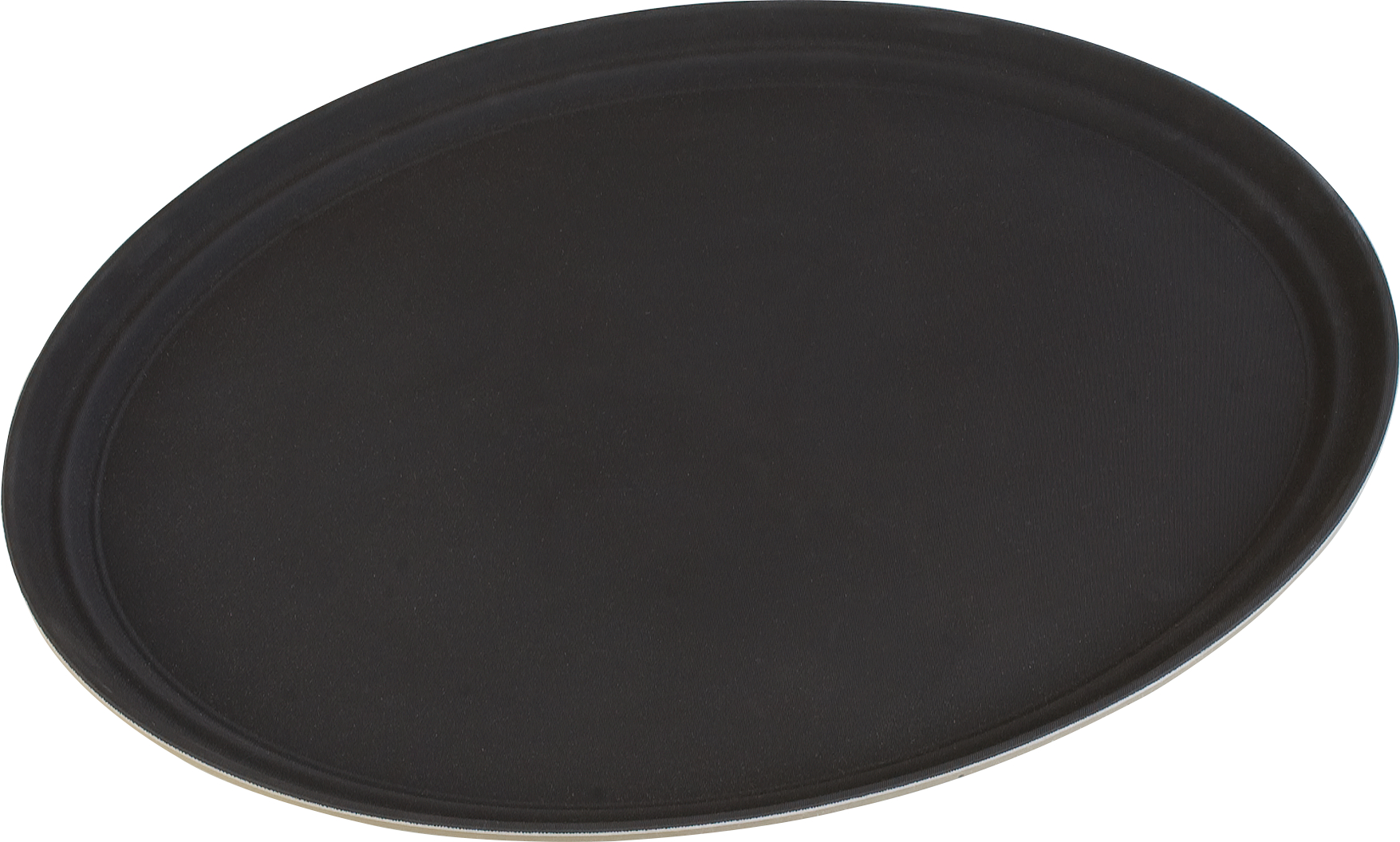 Truebasics Oval Grip Tray 25 x 20.5 - Toffee Tan