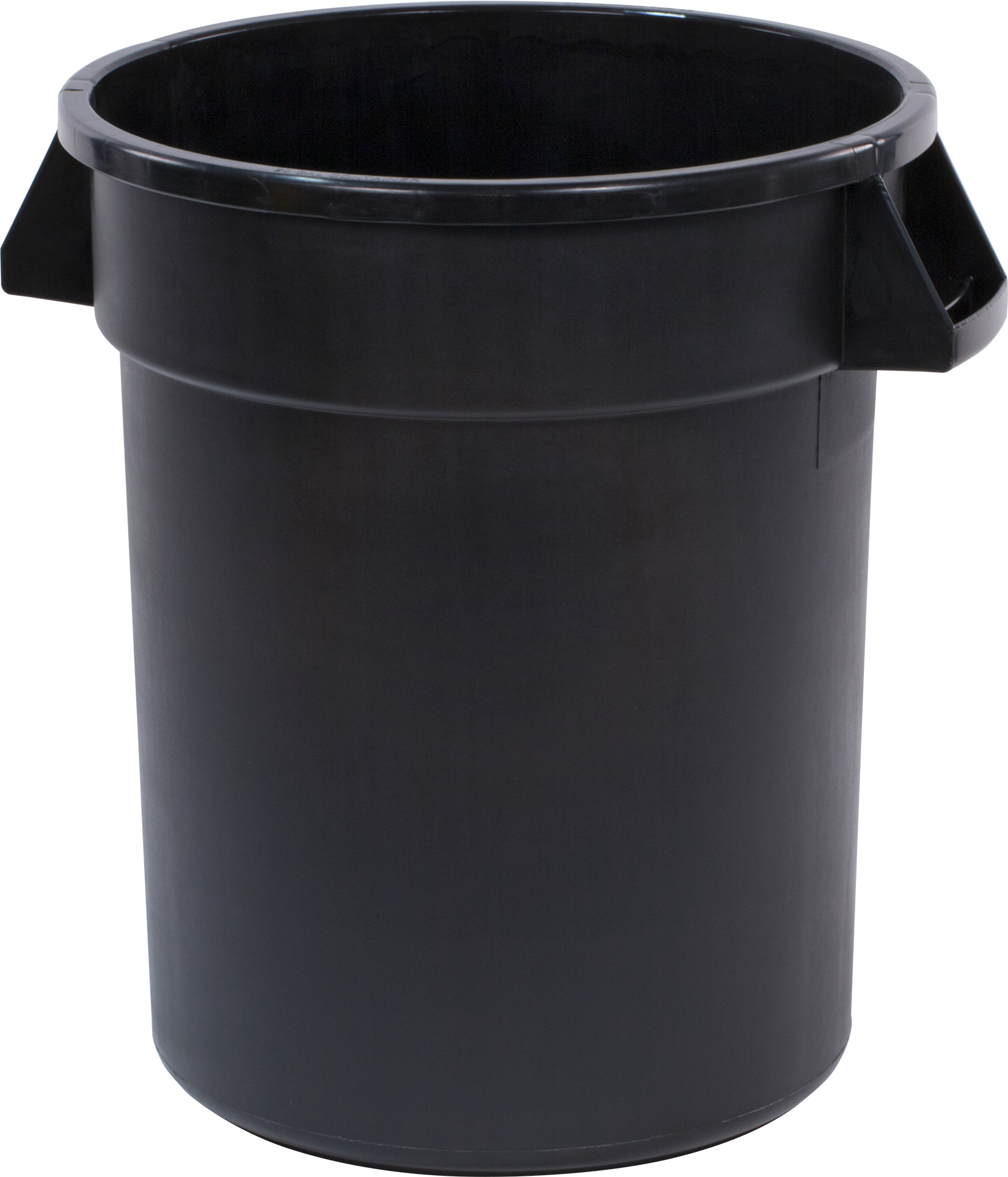 Bronco Round Waste Bin Food Container 20 Gallon - Black