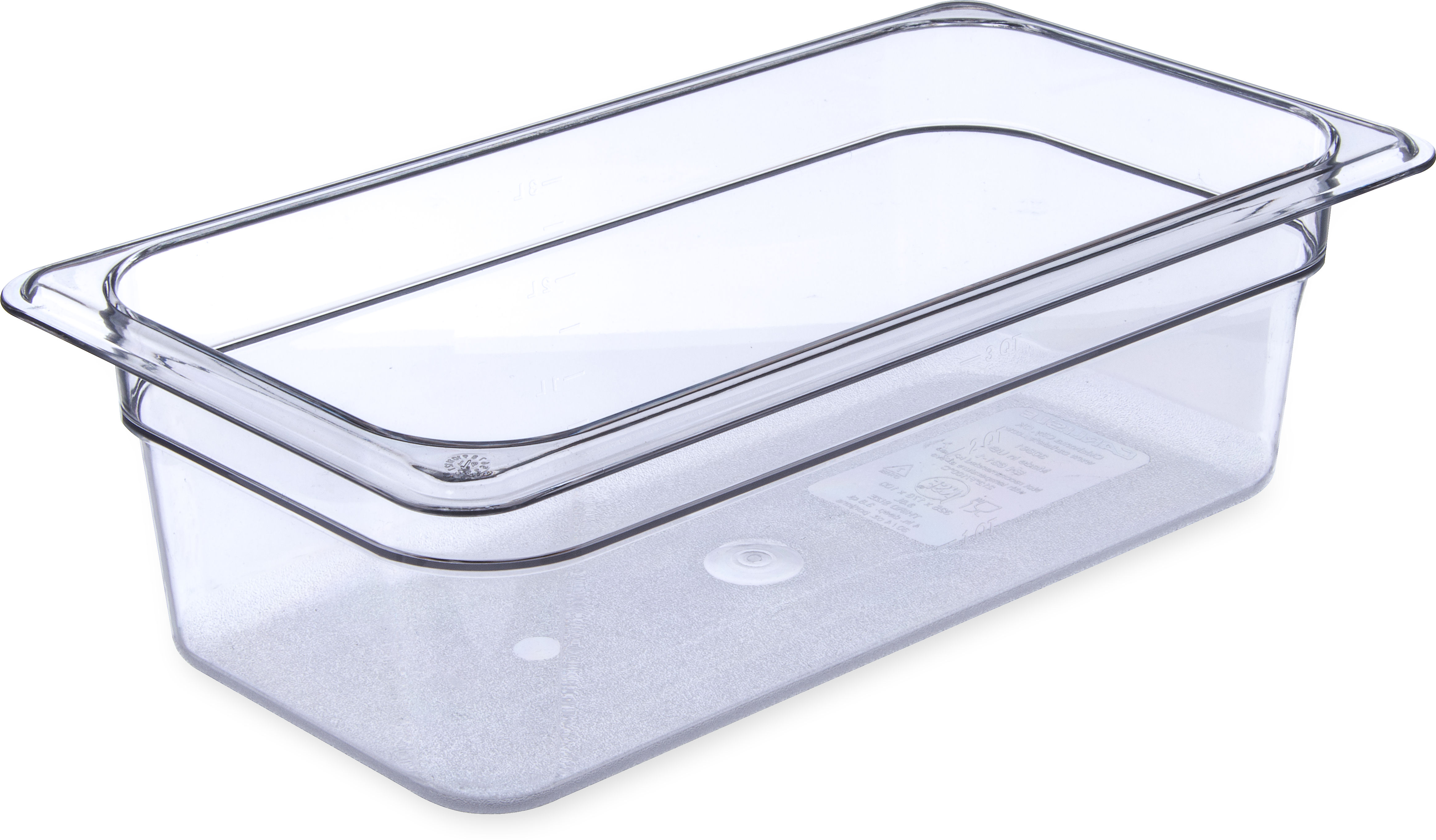 StorPlus Food Pan PC 4 DP 1/3 Size - Clear