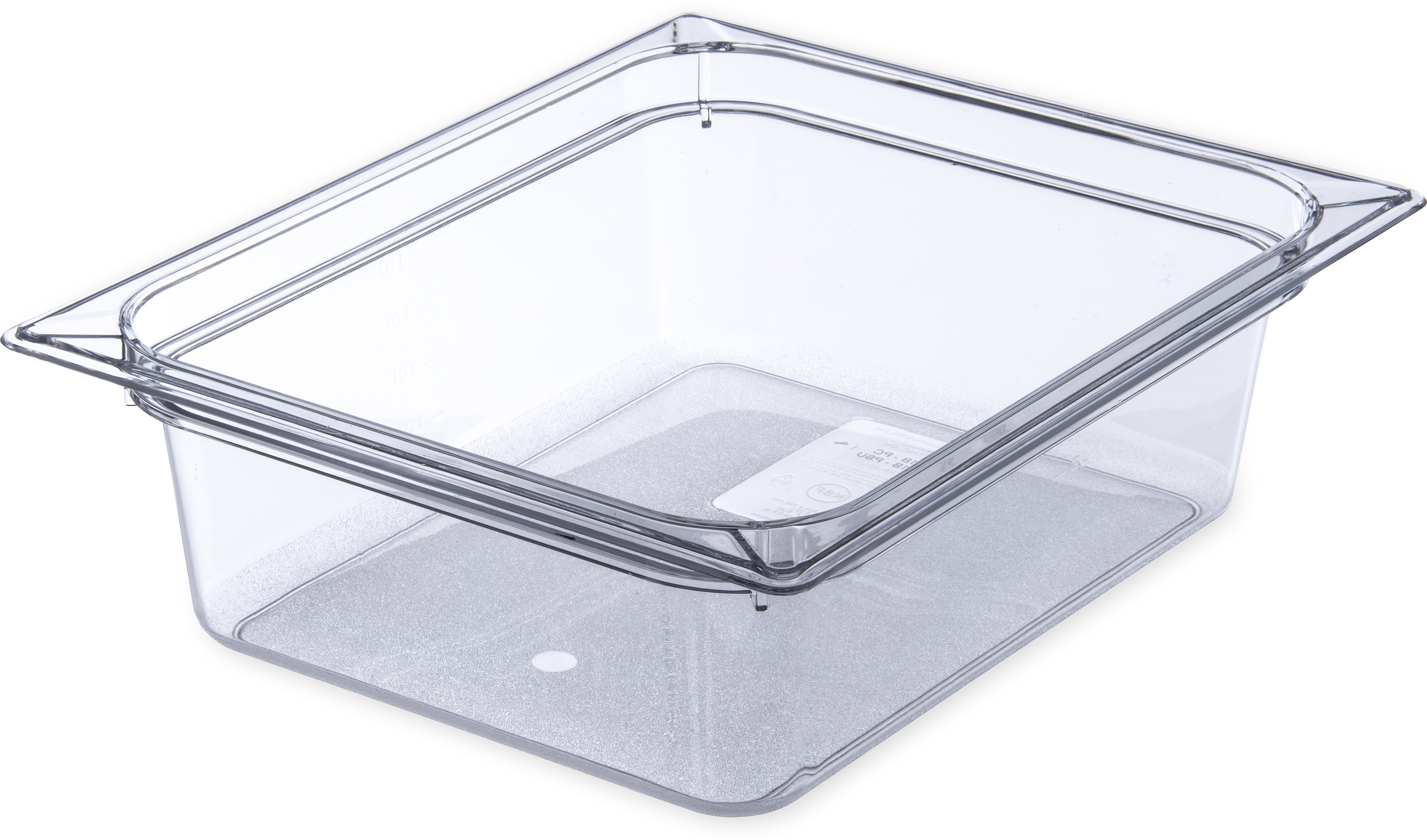 StorPlus Food Pan PC 4 DP 1/2 Size - Clear