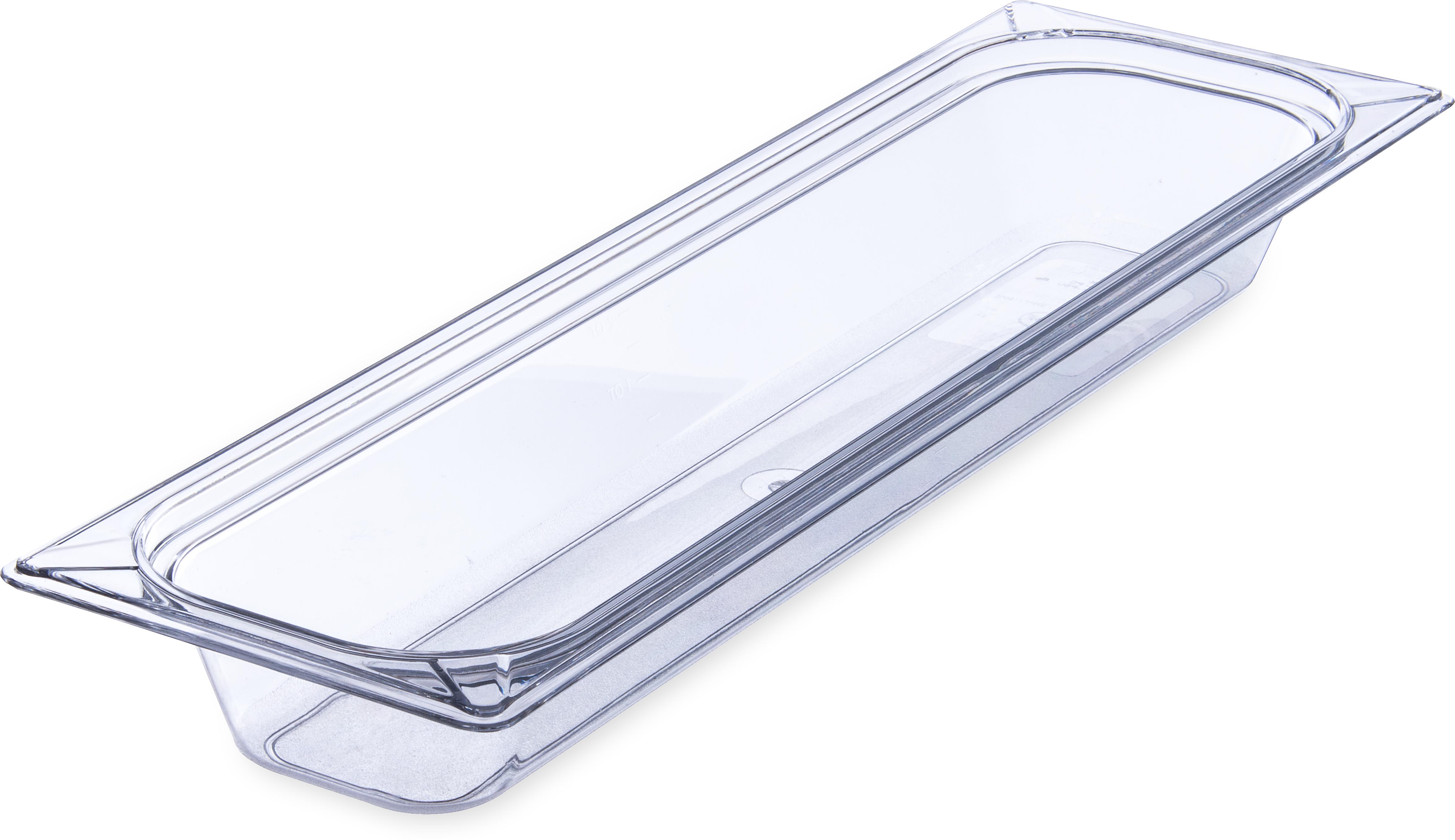 StorPlus Food Pan PC 2.5 DP 1/2 Size - Clear