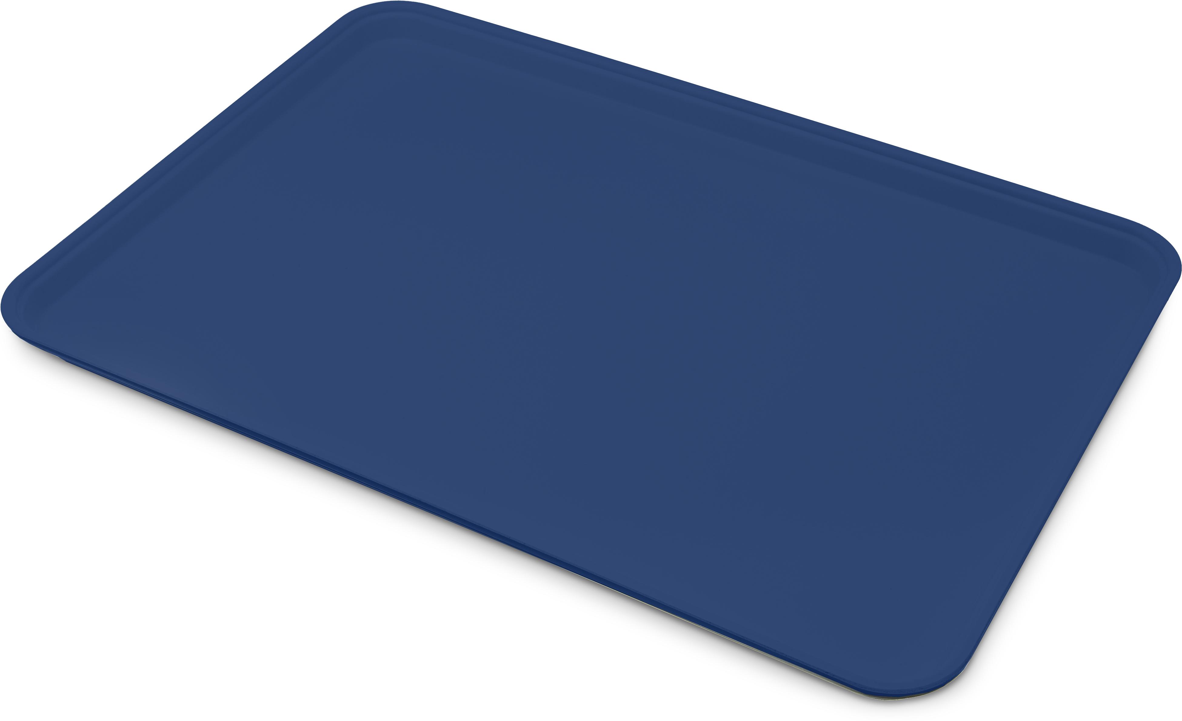 Glasteel Tray Display/Bakery 17.9 x 25.6 - Sapphire Blue