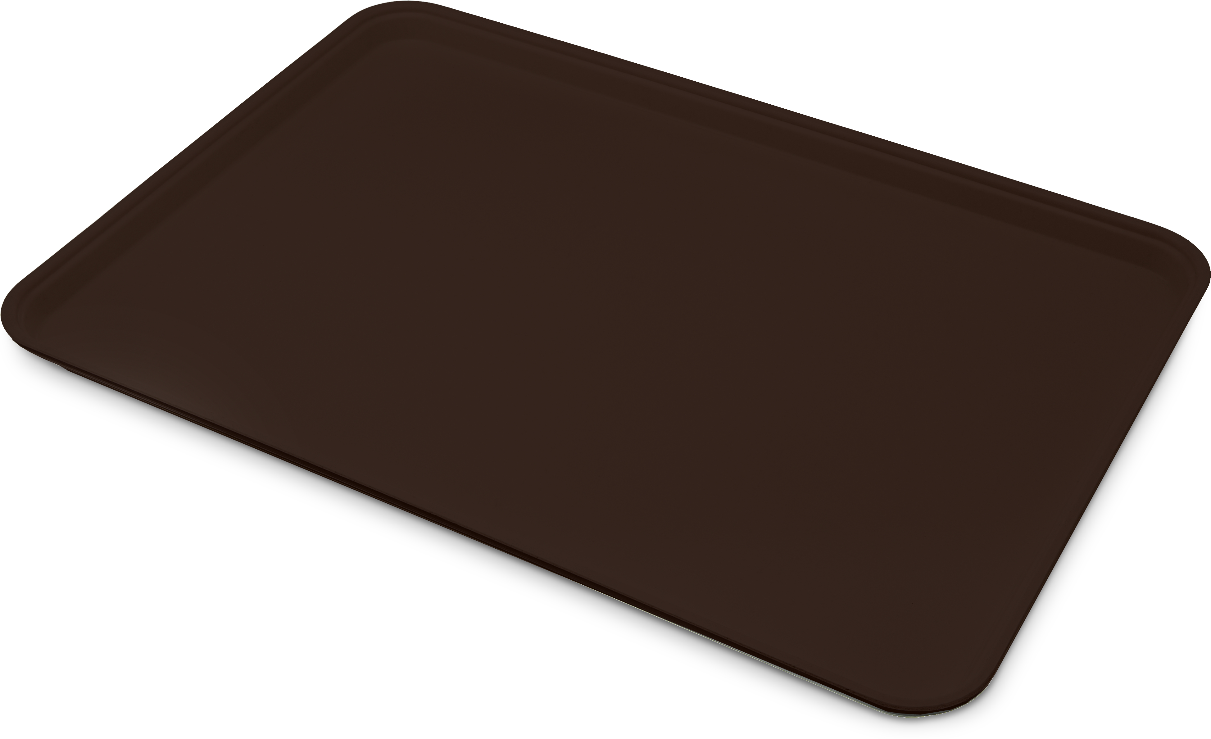 Glasteel Tray Display/Bakery 17.9 x 25.6 - Chocolate
