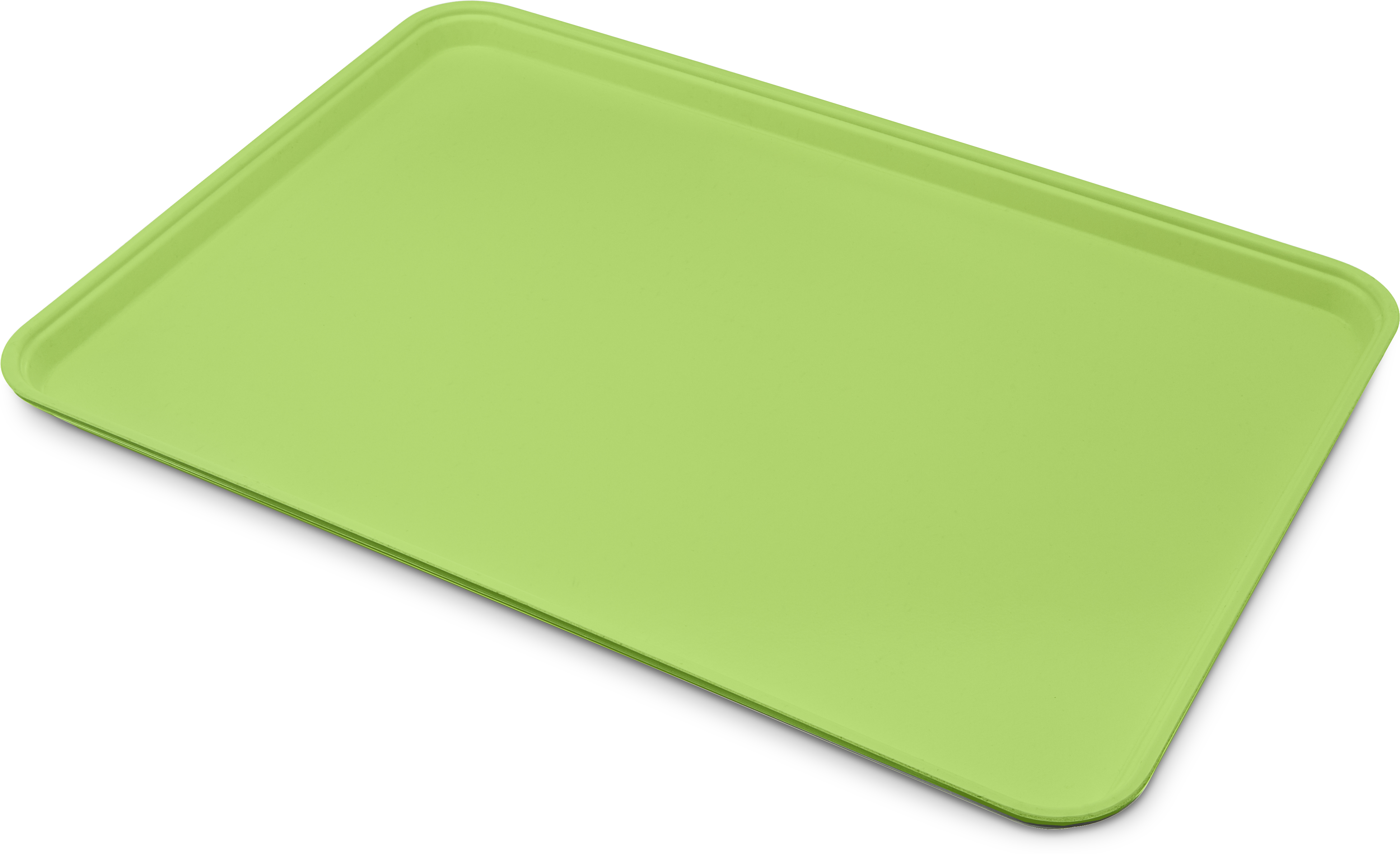 Glasteel Tray Display/Bakery 17.9 x 25.6 - Lime
