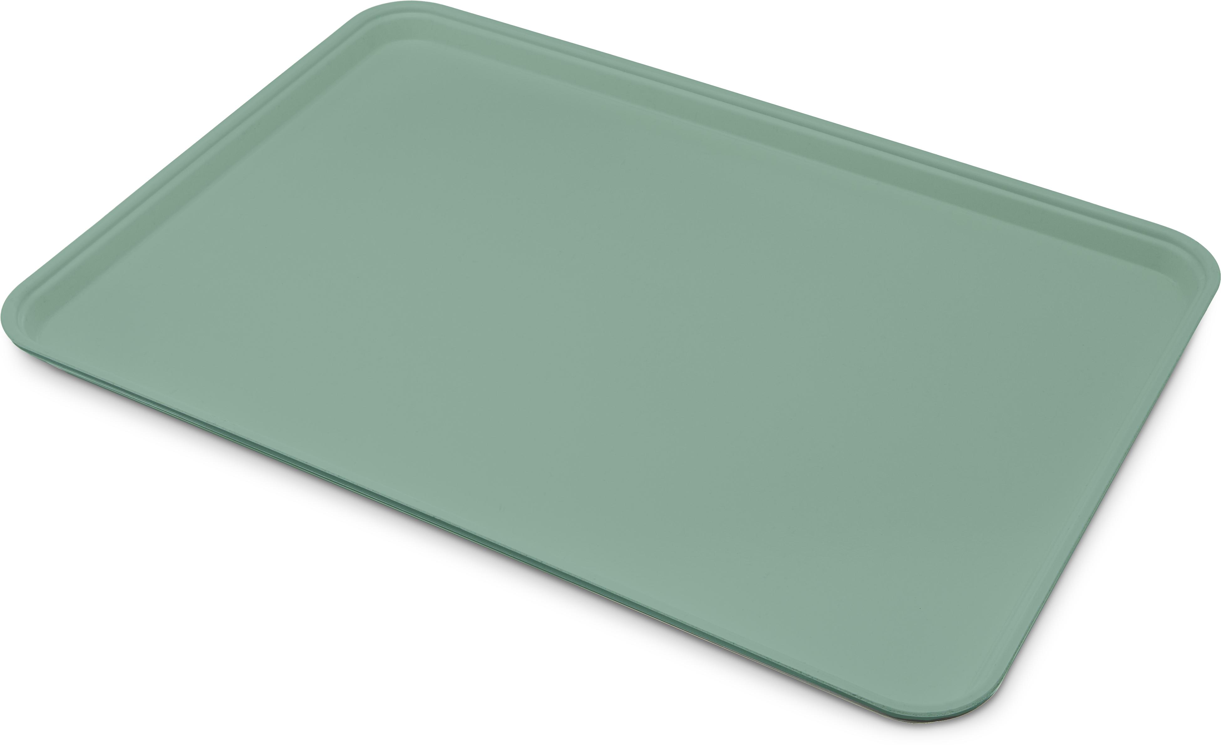 Glasteel Tray Display/Bakery 17.9 x 25.6 - Jade