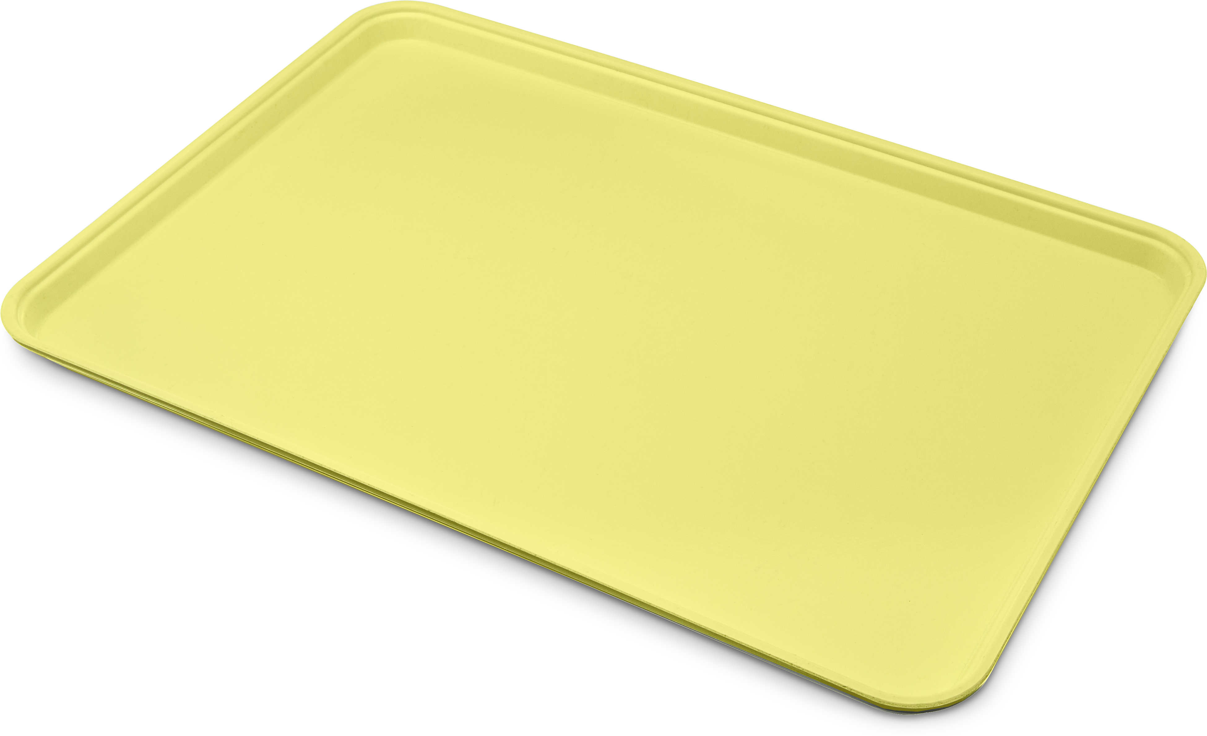 Glasteel Tray Display/Bakery 17.9 x 25.6 - Pineapple