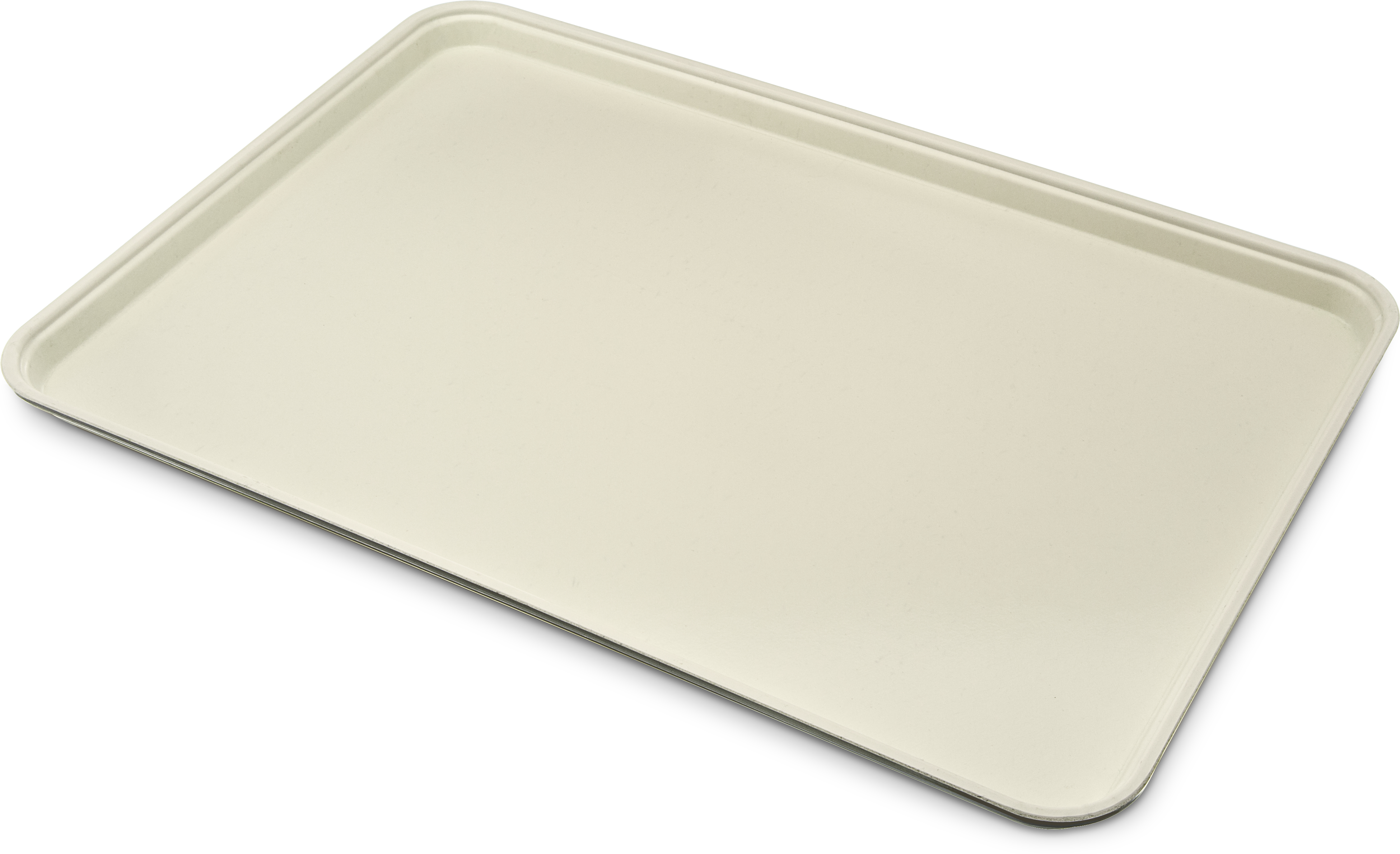Glasteel Tray Display/Bakery 17.9 x 25.6 - Almond