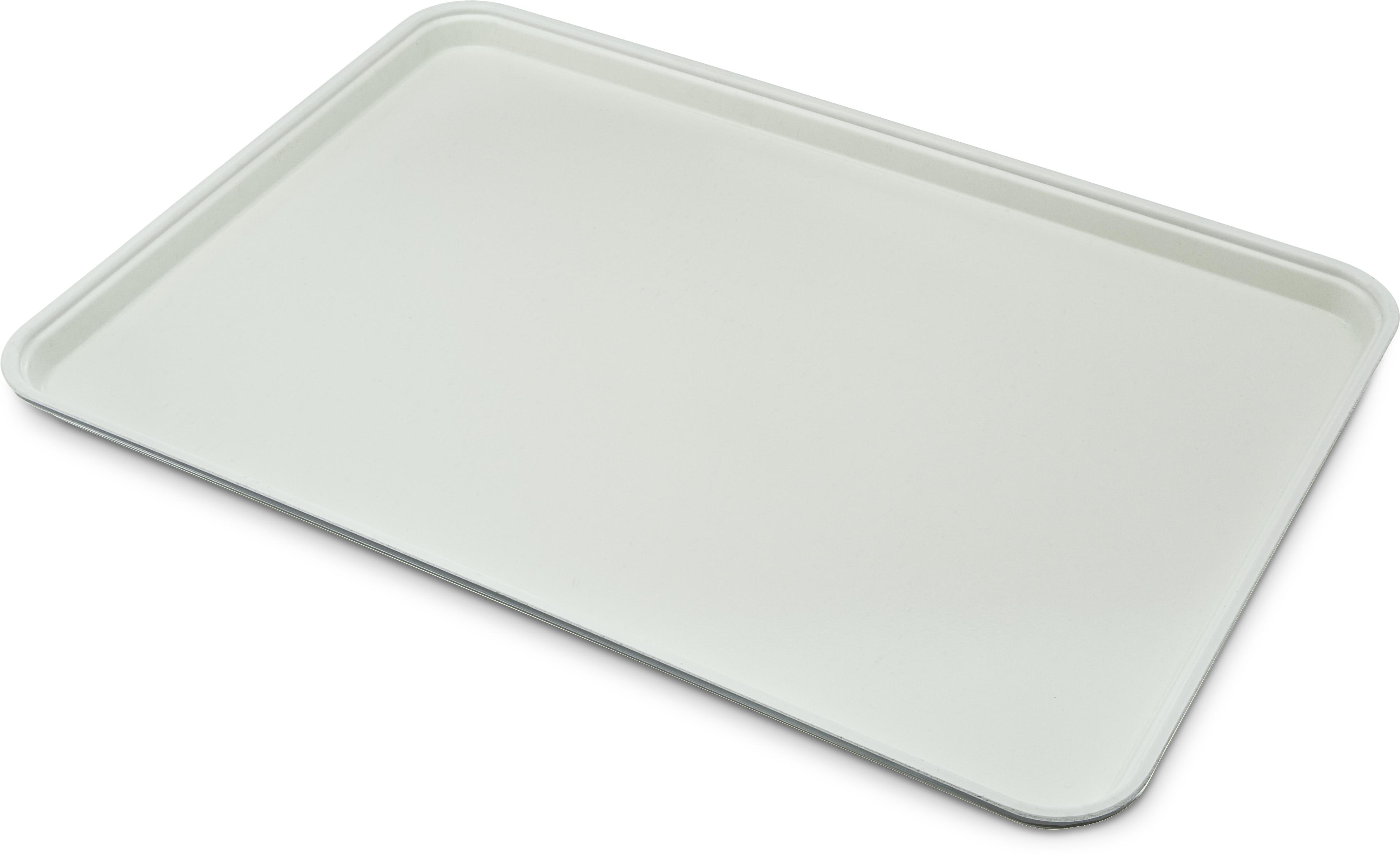 Glasteel Tray Display/Bakery 17.9 x 25.6 - Gray