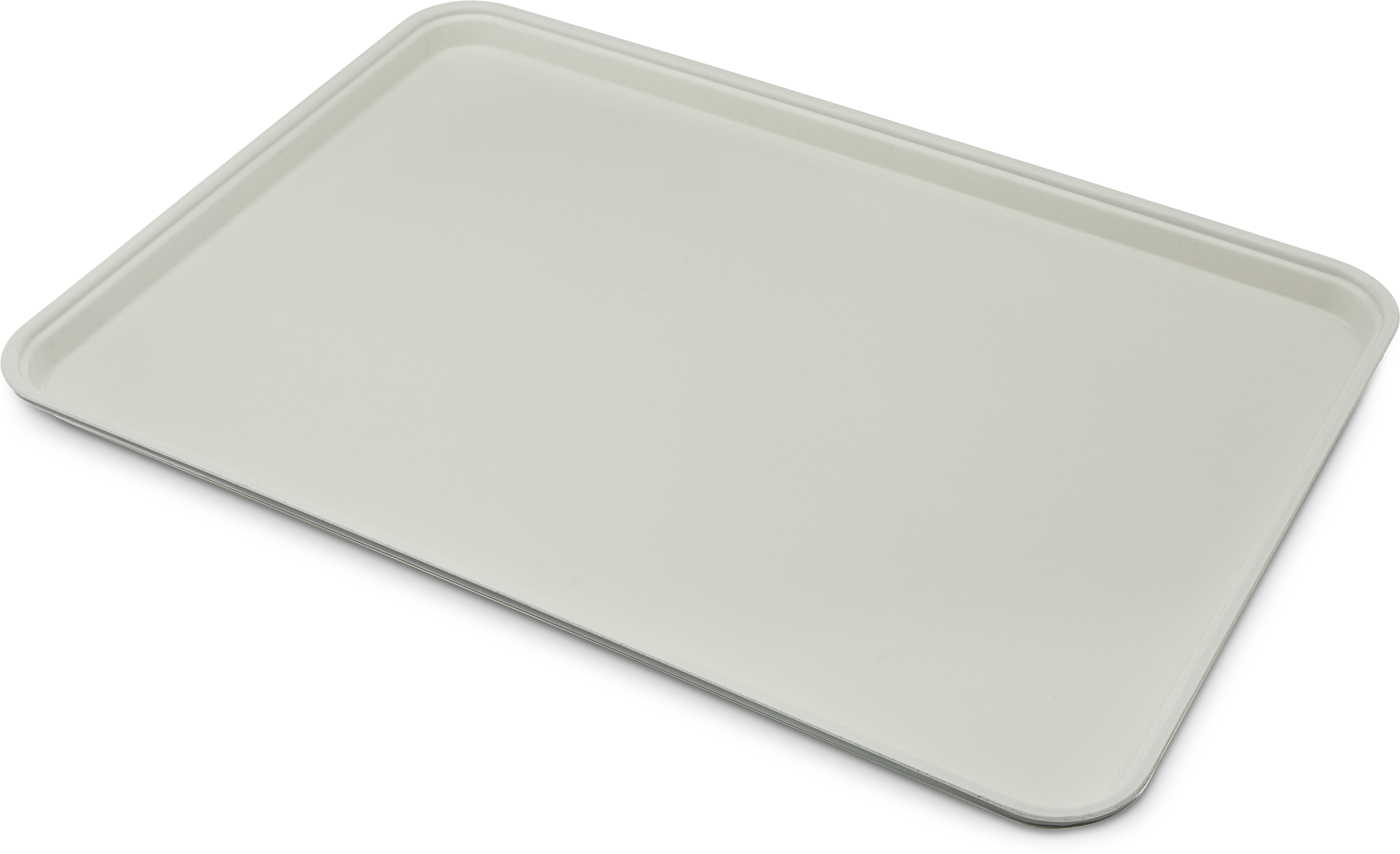Glasteel Tray Display/Bakery 17.9 x 25.6 - Smoke Gray