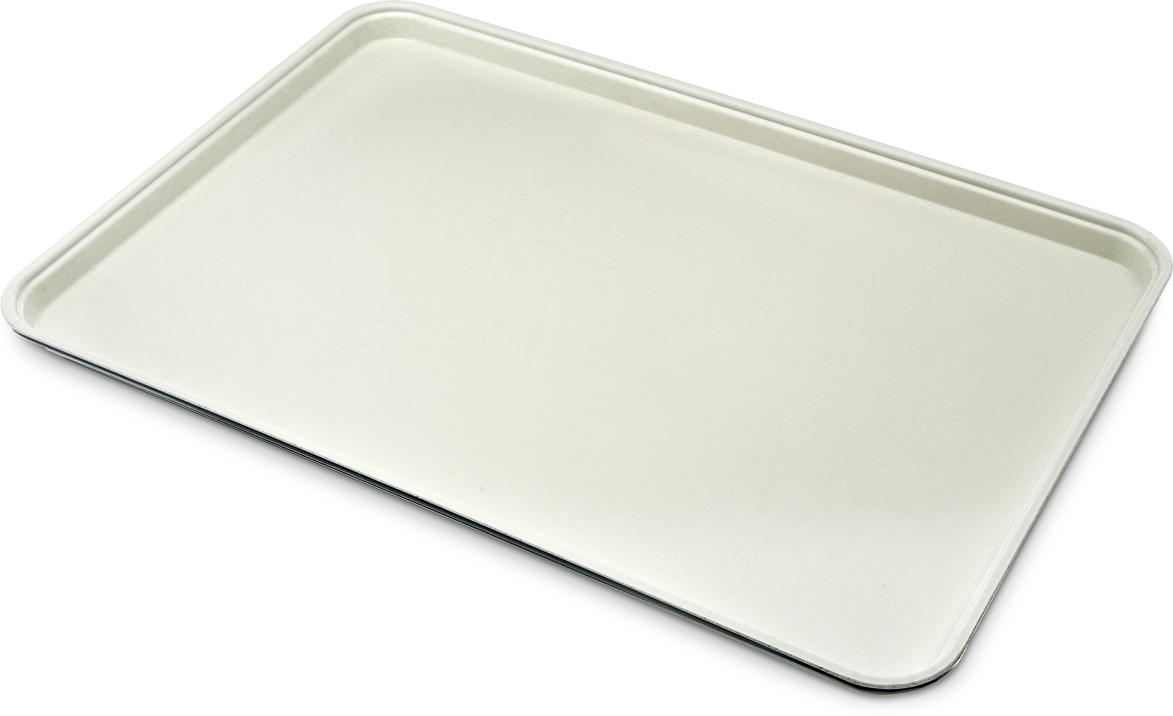 Glasteel Tray Display/Bakery 17.9 x 25.6 - Ivory