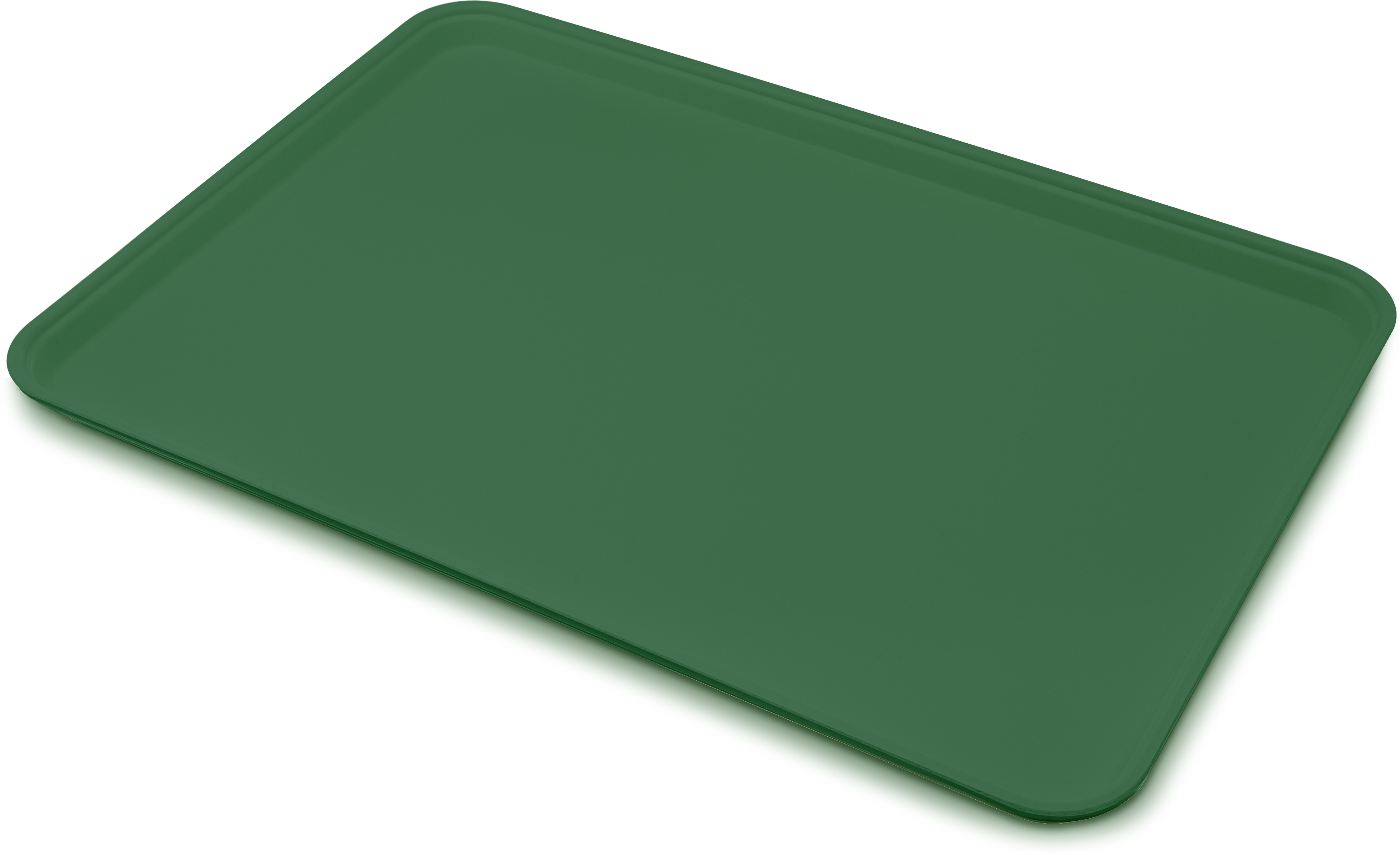 Glasteel Tray Display/Bakery 17.9 x 25.6 - Forest Green