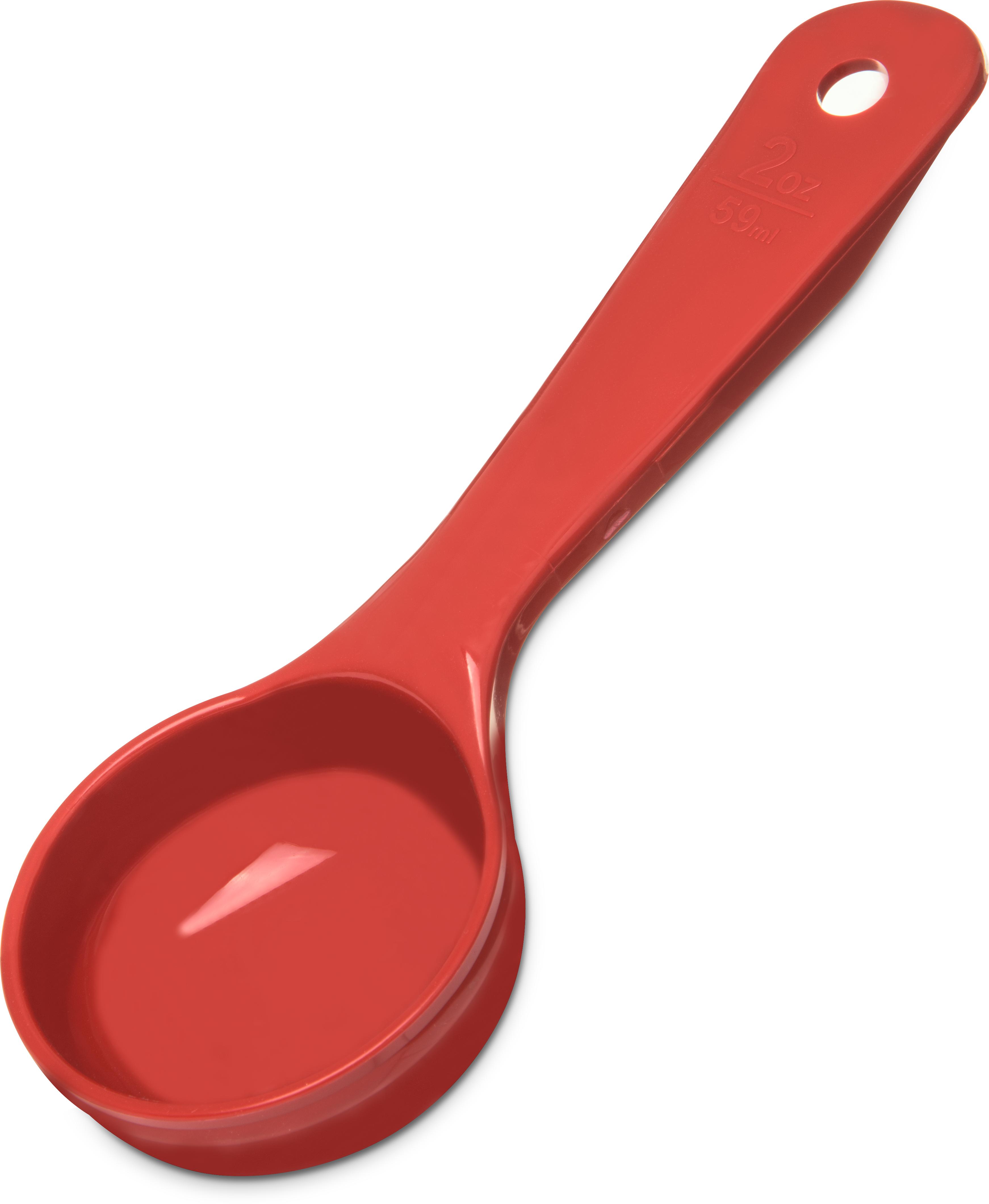 Measure Miser Solid Short Handle 2 oz - Red